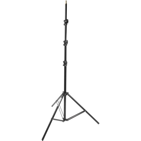 light stand manfrotto 368b basic black light stand 11 3 3m 368b b h