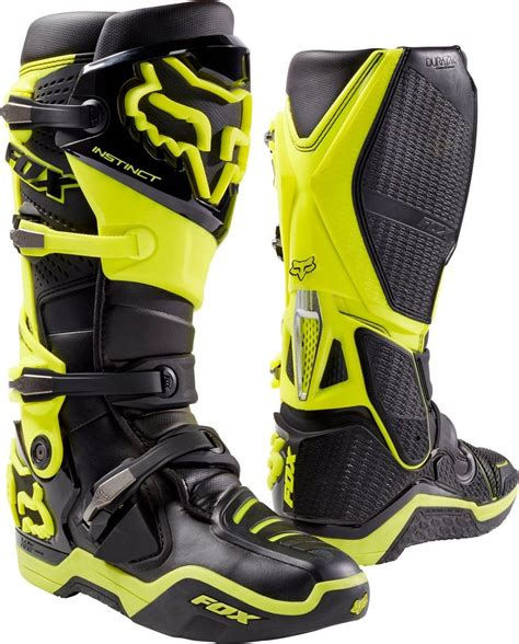 motocross push 549 95 fox racing instinct boots 2015 209286