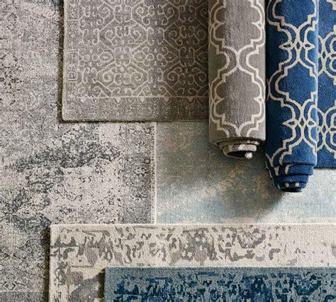 pottery barn bosworth rug bosworth printed wool rug gray pottery barn