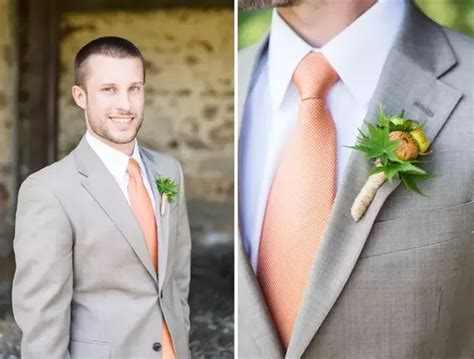 What can be the best shirt and tie combinations with grey