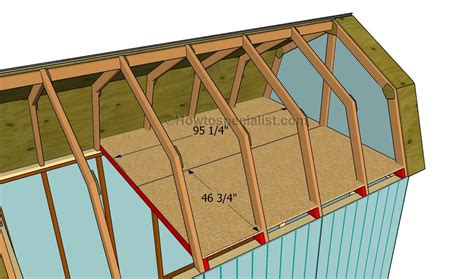 build  roof   shed howtospecialist