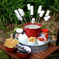 smore bar ideas for birthday party just b cause