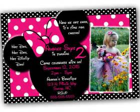 minnie mouse invitations theruntime