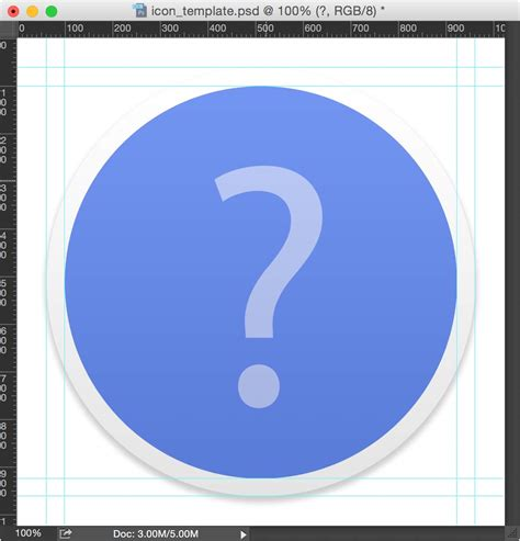 Yosemite Icon Template flat byword icon for yosemite