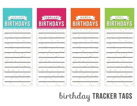 free printable birthday reminder cards 1044 best images about freebies on pinterest