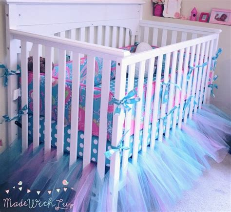 Diy Adorable Bed Skirt Tutu by Best 20 Tulle Crib Skirts Ideas On Tulle