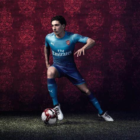 Jersey Arsenal Away 2017 2018 17 18 Fullset Grade Ori arsenal 17 18 away kit released footy headlines