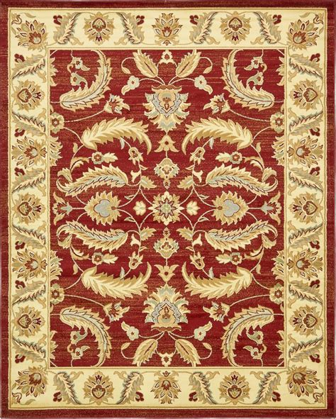 traditional style design floral area rug large