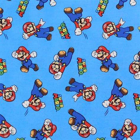 Patchwork And Quilting Fabric - patchwork quilting sewing fabric mario nintendo
