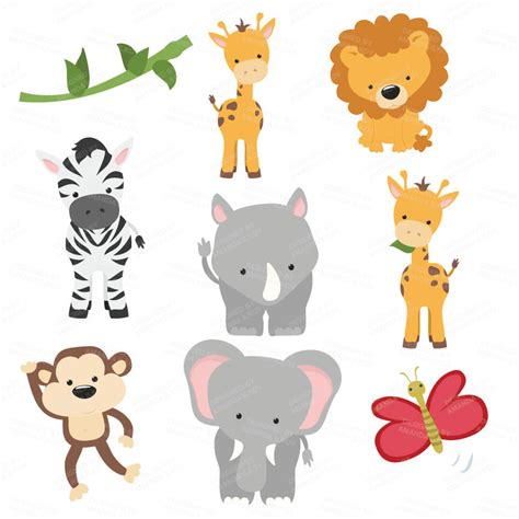 safari animals clip safari animals clip look at safari animals clip
