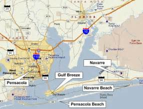 pensacola map florida maps