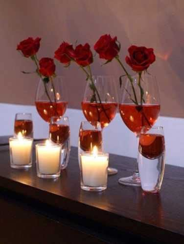 table decorating ideas for valentines 20 candles centerpieces for valentines day table