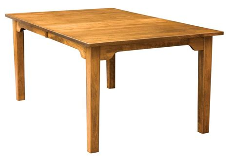 Dining Table Width by Amish Handcrafted Shaker Dining Table 36 Quot Width