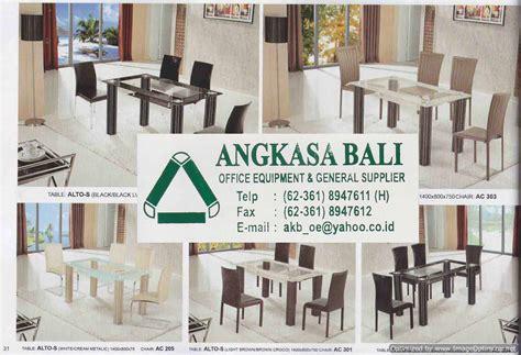 Meja Makan Di Bali jual meja makan di angkasa bali 0361 8947611 di malang