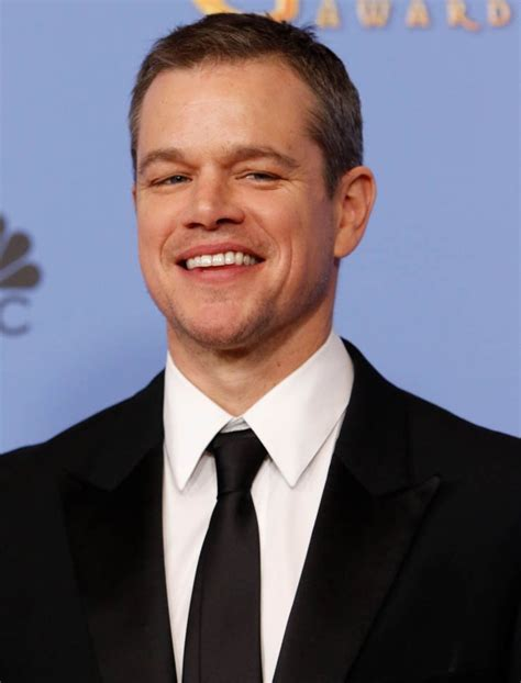matt damon matt damon won the 2016 golden globe for best actor in a