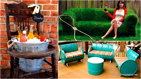 inexpensive office furniture creative homemade 37 insanely creative diy backyard furniture ideas that