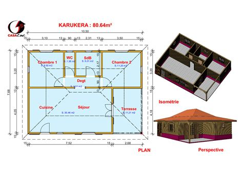Plan Maison Tropicale Gratuit 2115 by Plan Maison Tropicale Gratuit Faire Un Plan Maison Finest