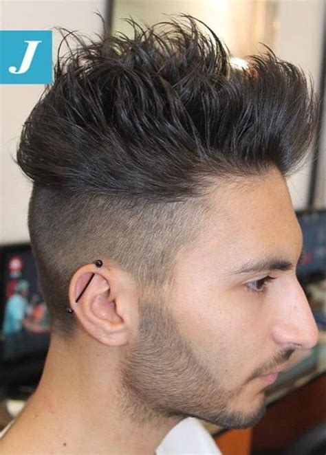 what is the mens haircut that is shaved up on the sides and long on the top 40 ritzy shaved sides hairstyles and haircuts for men