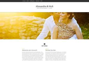 wedding websites best 25 wonderful wedding websites webdesigner depot