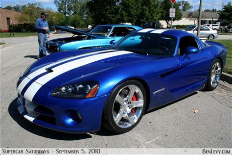 blue dodge viper benlevy