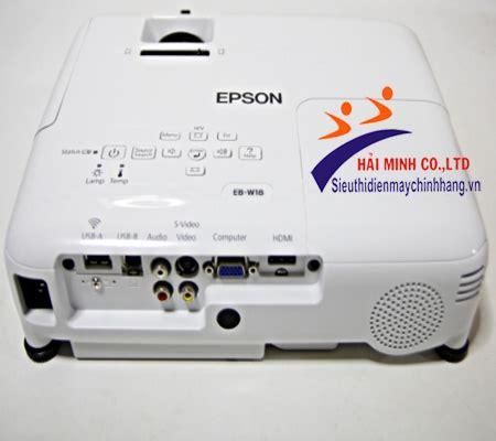 Proyektor Epson Eb W18 epson eb w18 projector m 225 y chiếu eb w18 ch 237 nh h 227 ng gi 225 tốt