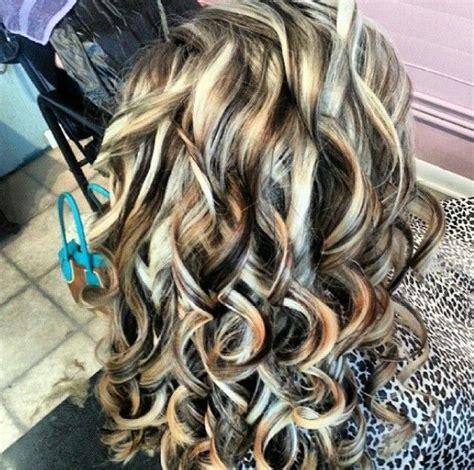 highlights lowlights hair pinterest dark colors