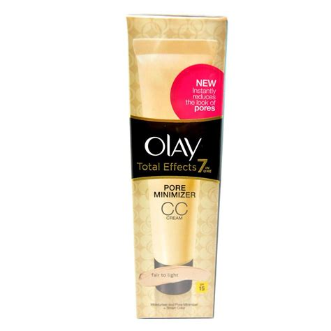 Olay Total Effects 7 In One Pore Minimizing Toner crema pentru atenuarea porilor olay total effects 7 in 1 pore minimizer cc spf15 fair to