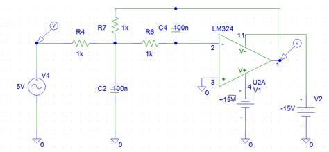diagramme de bode exercice corrigé chapitre 4 filtrage analogique actif structure de rauch