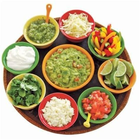 Toppings For Taco Bar by Throw A Cinco De Mayo
