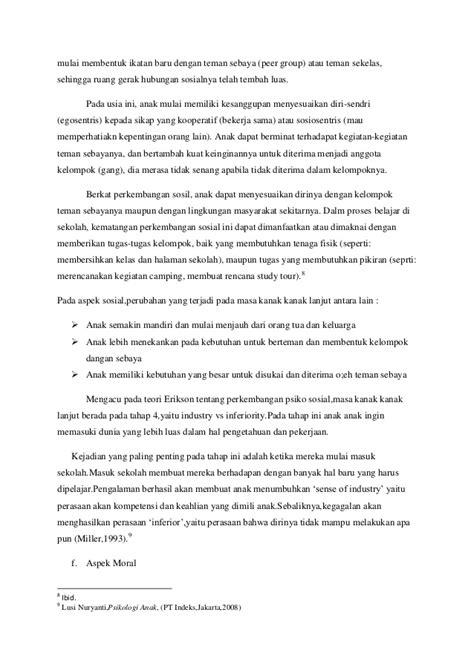 Melayani Perkembangan Manusia Ed 12 perkembangan manusia pada masa anak usia 6 12 tinjauan dari aspek bio