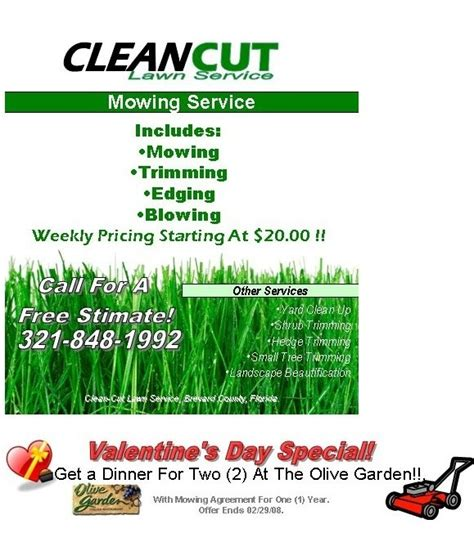free lawn mowing flyer template the letter sle