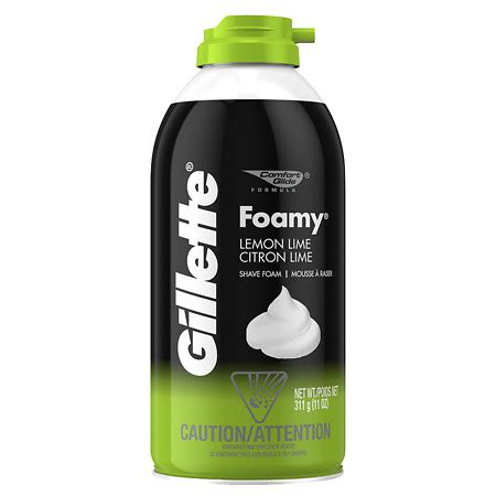 A Shave Is To Find 2 by Gillette Foamy Lemon Lime Walgreens