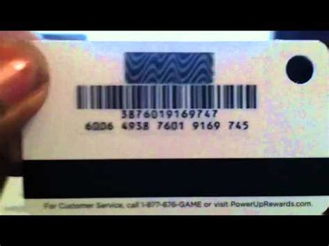 How To Activate A Gamestop Gift Card - gamestop powerup rewards pro card