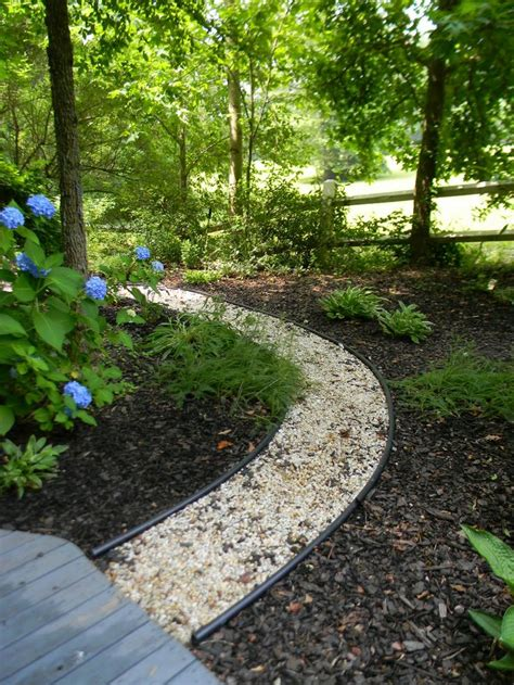 Pea Gravel Garden Pea Gravel Path Garden