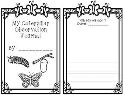 printable caterpillar observation journal caterpillar observation journal the o jays butterflies