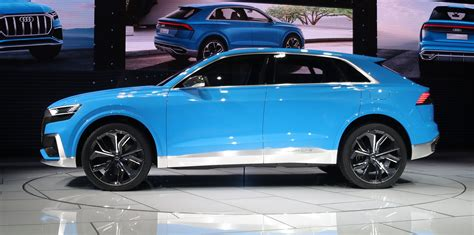 concept audi audi q8 concept revealed photos 1 of 20