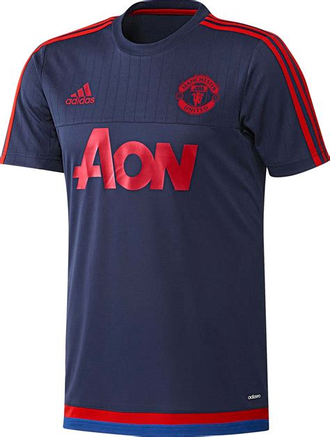 design t shirt manchester united adidas manchester united 15 16 training shirts released