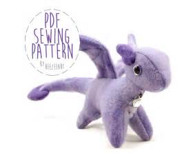 Templates For Sewing Animals by Tiny Stuffed By Beezeeart Sewing Pattern