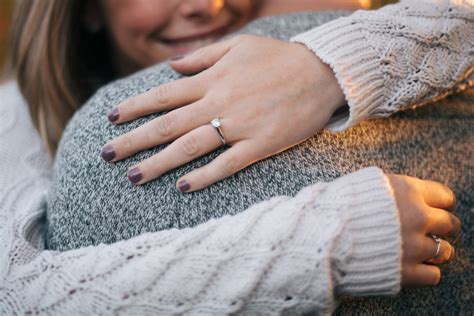 what hand does an engagement ring go on blueprint registry