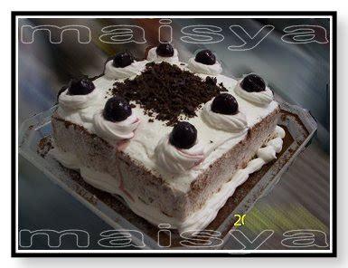 Cake Blackforest Cibubur 2 black forest cake