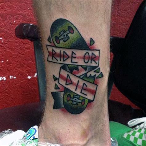 skate tattoo di dada broken skateboard tattoo www pixshark com images