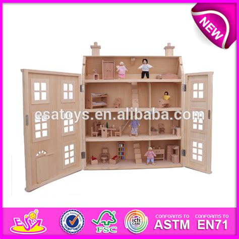wooden dolls houses for toddlers 2016 newest children wooden doll house popular baby wooden doll house mini kids wooden