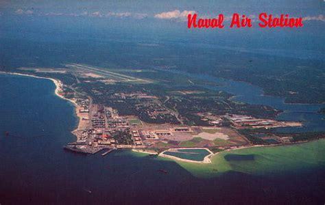 Records Pensacola Fl Florida Memory Aerial View Of Naval Air Station Pensacola Florida