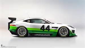 Jaguar Gt3 Jaguar F Type Gt3 Gte Render Gibson Photography