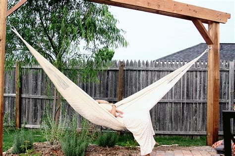 hammock in backyard hammock outdoor spaces pinterest