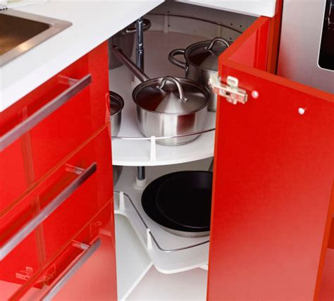 ikea red kitchen cabinets modern red l shaped ikea kitchen design and ideas