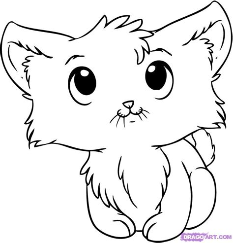 Drawing Kittens by Free Coloring Pages Of To Draw Kittens