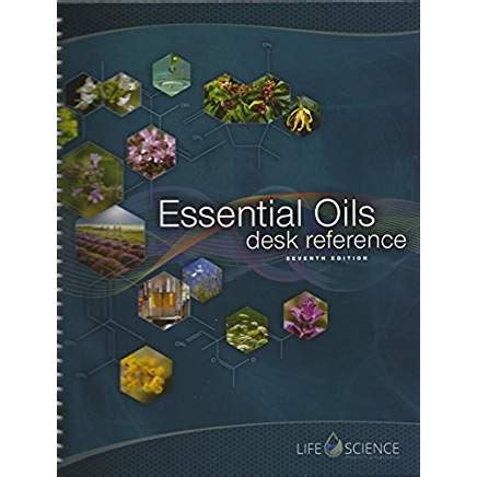 essential oil desk reference and reference guide for
