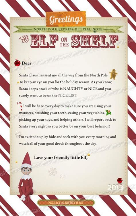 printable elf arrival letter letter from elf on shelf it s the most wonderful time of