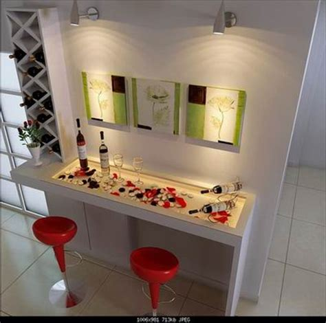 Home Bar Wall Decor home decor wall and home bar 3d model free